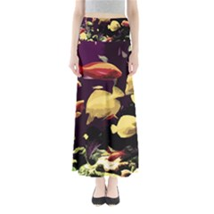 Tropical Fish Full Length Maxi Skirt by Valentinaart