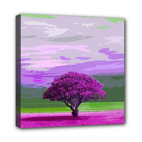 Landscape Mini Canvas 8  X 8  by Valentinaart