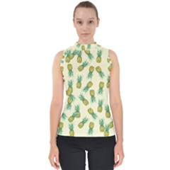 Pineapples Pattern Shell Top