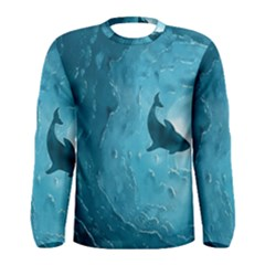 Shark Men s Long Sleeve Tee