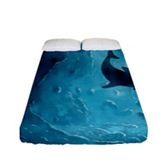 Shark Fitted Sheet (full/ Double Size)