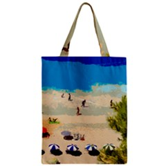 Beach Classic Tote Bag by Valentinaart