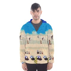Beach Hooded Wind Breaker (men)