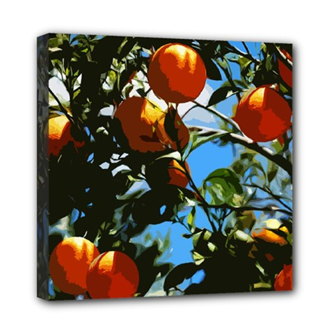 Orange Tree Mini Canvas 8  X 8  by Valentinaart