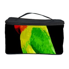Parrot  Cosmetic Storage Case by Valentinaart