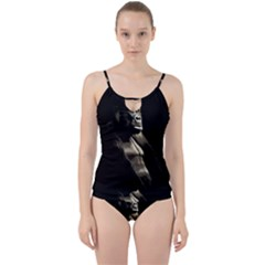 Gorilla  Cut Out Top Tankini Set