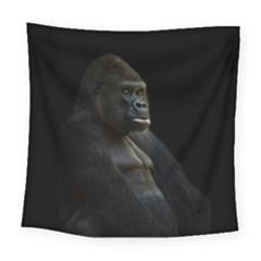 Gorilla  Square Tapestry (large)