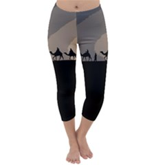 Caravan  Capri Winter Leggings