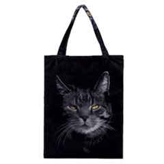 Domestic Cat Classic Tote Bag by Valentinaart