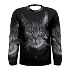 Domestic Cat Men s Long Sleeve Tee