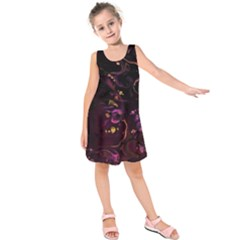 Abstraction Shadow Light Kids  Sleeveless Dress by amphoto