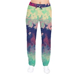 Paint Lights Spots  Drawstring Pants by amphoto