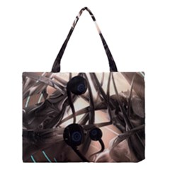 Connection Shadow Background  Medium Tote Bag by amphoto