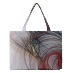 Plexus Web Light  Medium Tote Bag by amphoto