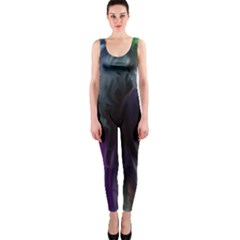Brush Paint Light  Onepiece Catsuit by amphoto