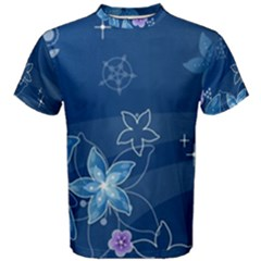 Abstraction Pattern Color  Men s Cotton Tee