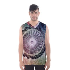 Circle Figures Background  Men s Basketball Tank Top by amphoto
