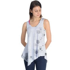 Squares Colorful Spots  Sleeveless Tunic by amphoto