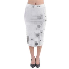 Squares Colorful Spots  Midi Pencil Skirt by amphoto
