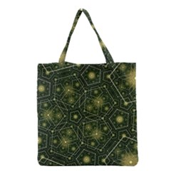 Shape Surface Patterns  Grocery Tote Bag by amphoto