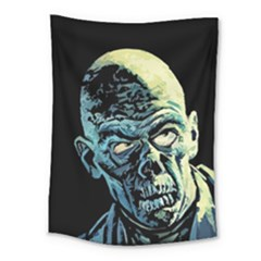 Zombie Medium Tapestry by Valentinaart