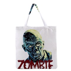 Zombie Grocery Tote Bag by Valentinaart