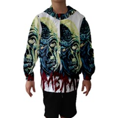 Zombie Hooded Wind Breaker (kids) by Valentinaart
