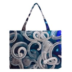 Spiral Glass Abstract  Medium Tote Bag by amphoto
