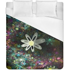 Flowers Fractal Bright 3840x2400 Duvet Cover (california King Size) by amphoto