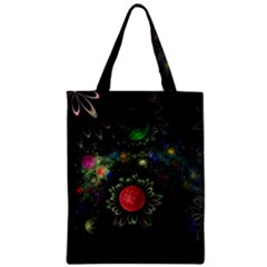 Shapes Circles Flowers  Zipper Classic Tote Bag by amphoto