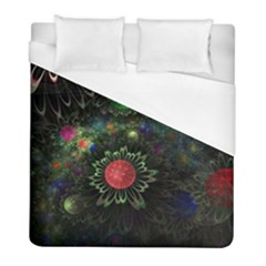 Shapes Circles Flowers  Duvet Cover (full/ Double Size) by amphoto