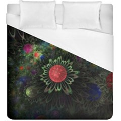 Shapes Circles Flowers  Duvet Cover (king Size) by amphoto