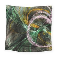 Connection Background Line Square Tapestry (large) by amphoto