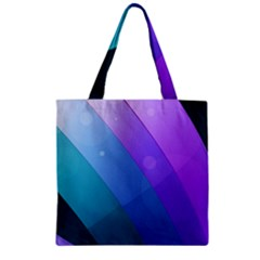Line Glare Light 3840x2400 Zipper Grocery Tote Bag by amphoto