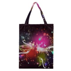 Plant Patterns Colorful  Classic Tote Bag by amphoto