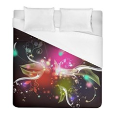 Plant Patterns Colorful  Duvet Cover (full/ Double Size) by amphoto