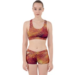 Surface Points Dirt  Work It Out Sports Bra Set