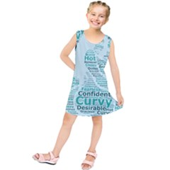 Belicious World Curvy Girl Wordle Kids  Tunic Dress by beliciousworld