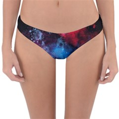 Stains Paint Background  Reversible Hipster Bikini Bottoms