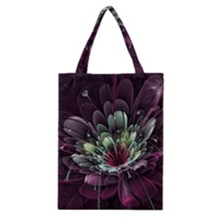 Flower Burst Background  Classic Tote Bag
