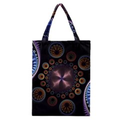 Circles Colorful Patterns  Classic Tote Bag