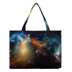 Explosion Sky Spots  Medium Tote Bag by amphoto