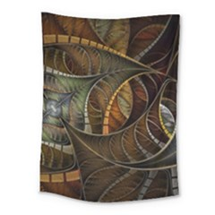 Mosaics Stained Glass Colorful  Medium Tapestry by amphoto