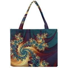 Patterns Paint Ice  Mini Tote Bag by amphoto