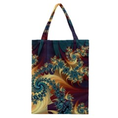 Patterns Paint Ice  Classic Tote Bag by amphoto