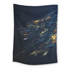 Spots Dark Lines Glimpses 3840x2400 Medium Tapestry by amphoto