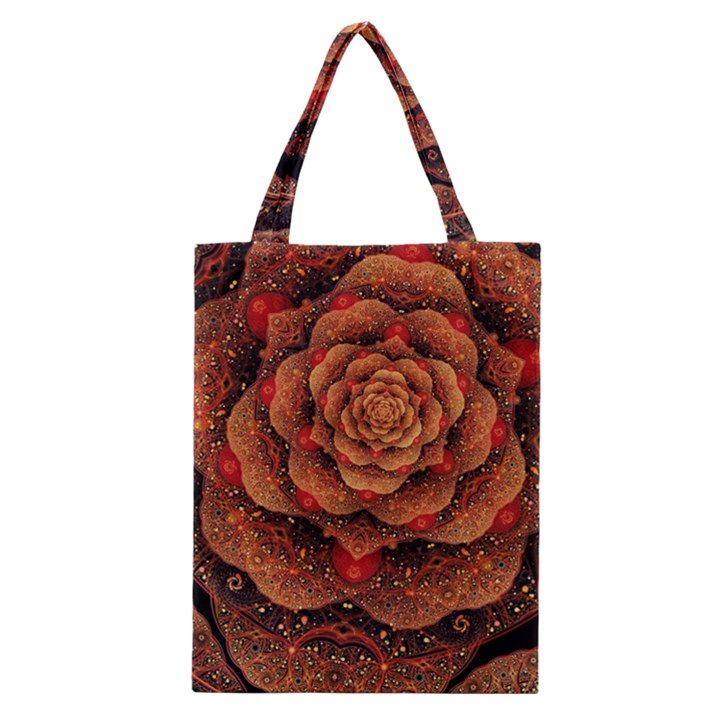 Flower Patterns Petals  Classic Tote Bag