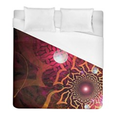 Explosion Background Bright  Duvet Cover (full/ Double Size)