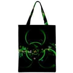 Radiation Sign Spot  Zipper Classic Tote Bag by amphoto