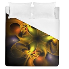 Art Fractal  Duvet Cover (queen Size) by amphoto